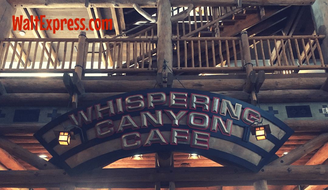 Whispering Canyon Cafe: A Disney Dining Review
