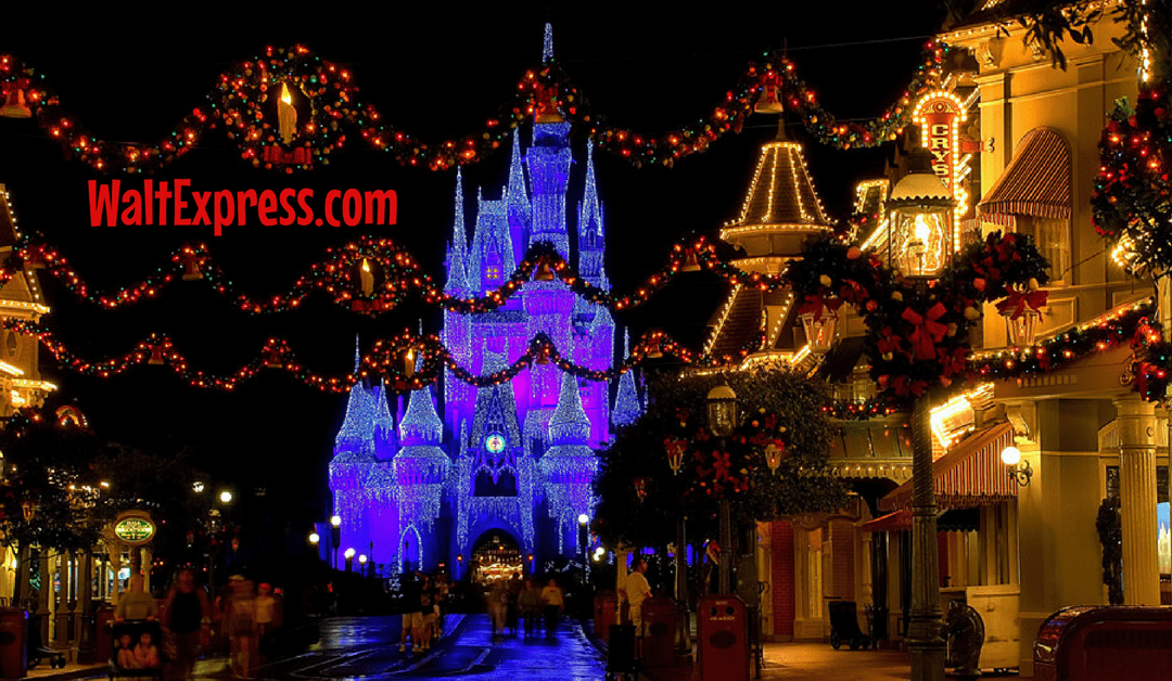 Top 5 Must-Do's for the Holidays at Disney World