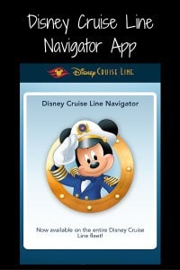 Disney Cruise LineNavigator App (1)