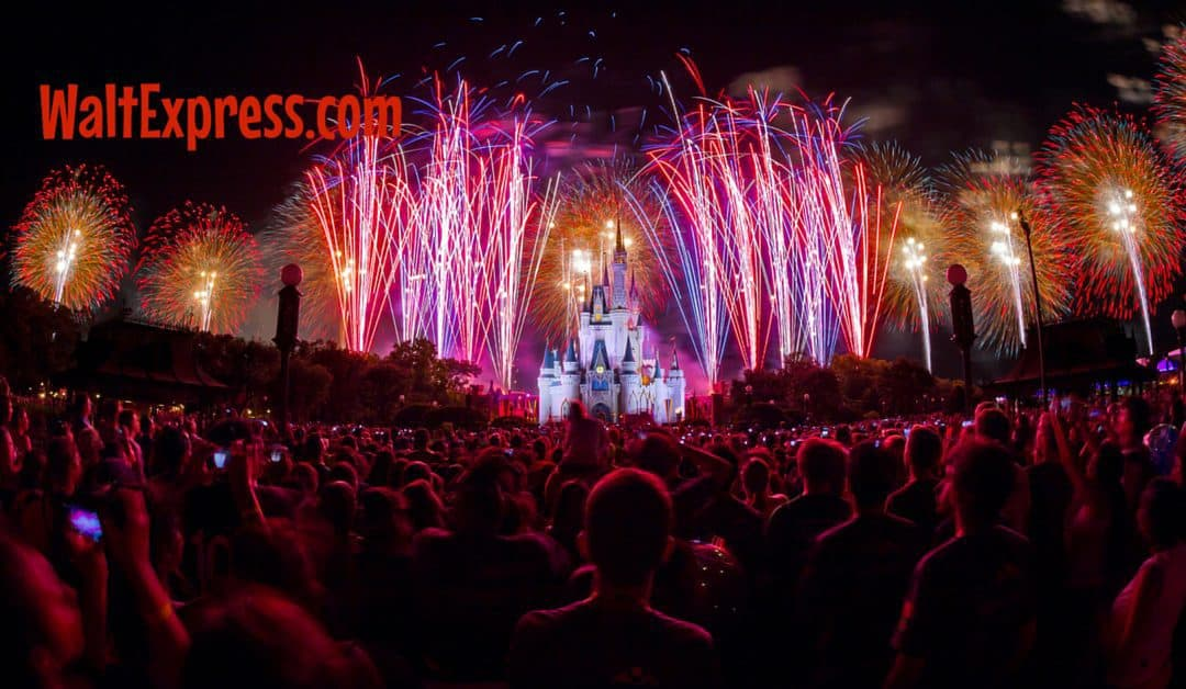 #DisneyParksLIVE Stream of Disney Fireworks