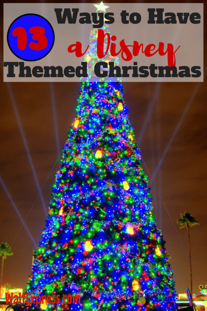 13 Ways to Have a Disney Themed Christmas