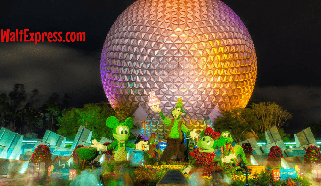 Just Released: Dining Packages for Epcot's Flower and Garden Festival