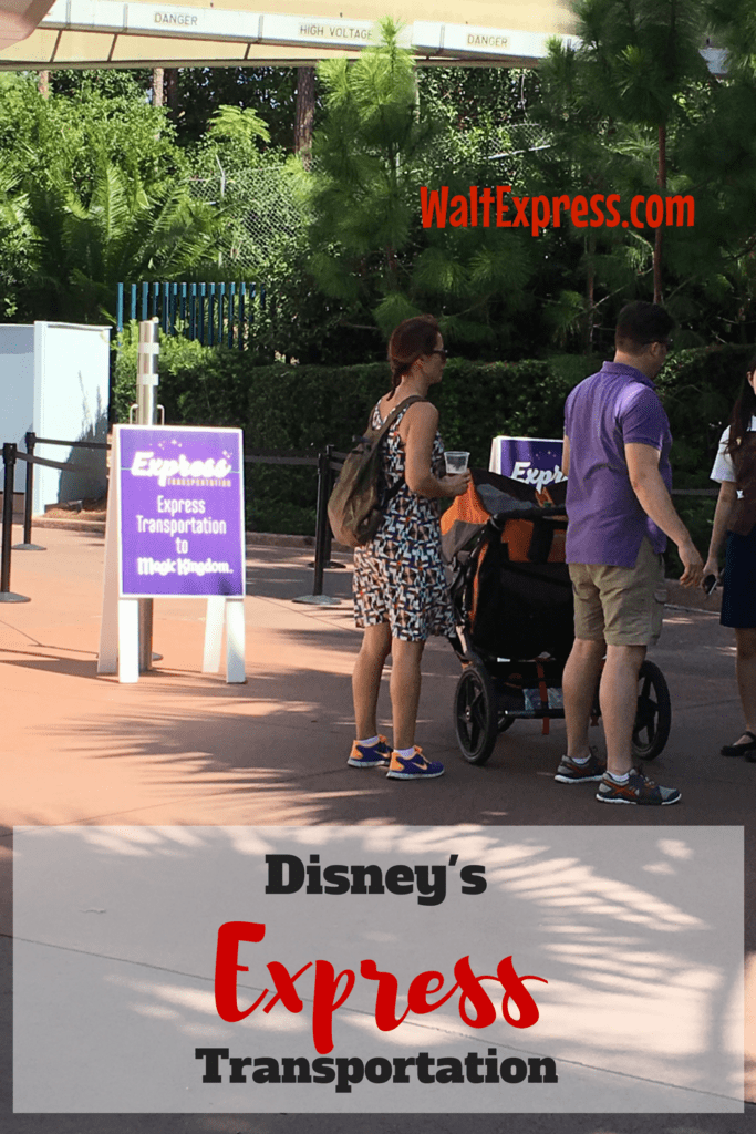 NEW Express Transportation Explained a Disney World review