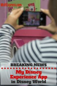 Breaking News: Disney Releases NEW My Disney Experience App
