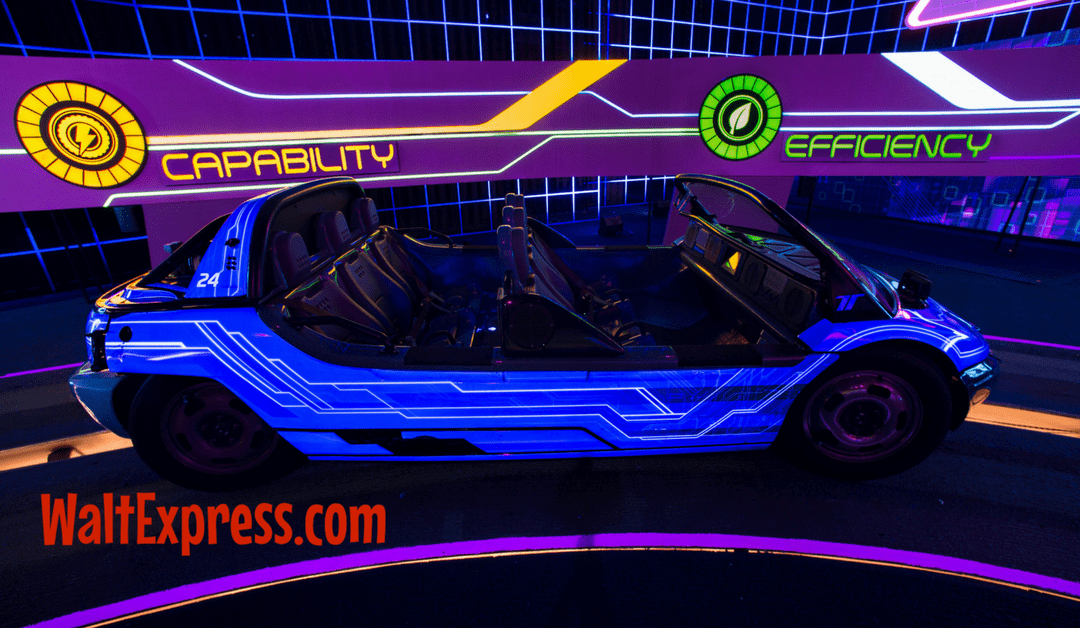 Video: Test Track Presented by Chevrolet at Epcot a Disney World Review