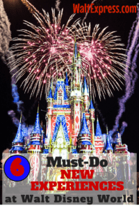 Disney Parks Blog: Top 6 NEW Must-Do Experiences at Disney World