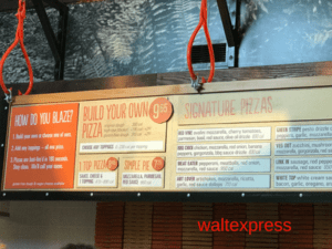 Blaze Pizza: A Disney World Quick Service Dining Review