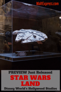 Just Released: Star Wars Land Preview Unveiled for Disney World