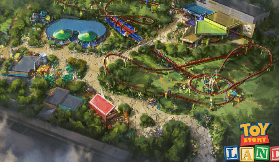 Hollywood Studios: Slinky Dog Dash Track Completed in Toy Story Land