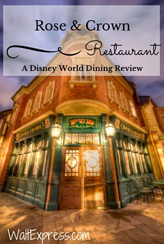Rose U0026 Crown Dining Room: A Disney World Dining Review Part 51