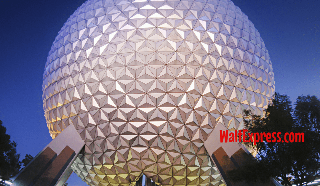#DisneyParksLive: Spaceship Earth Becomes Star Wars Death Star