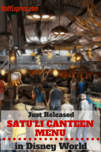 Just Released: Menu Options for Satu'li Canteen in Pandora