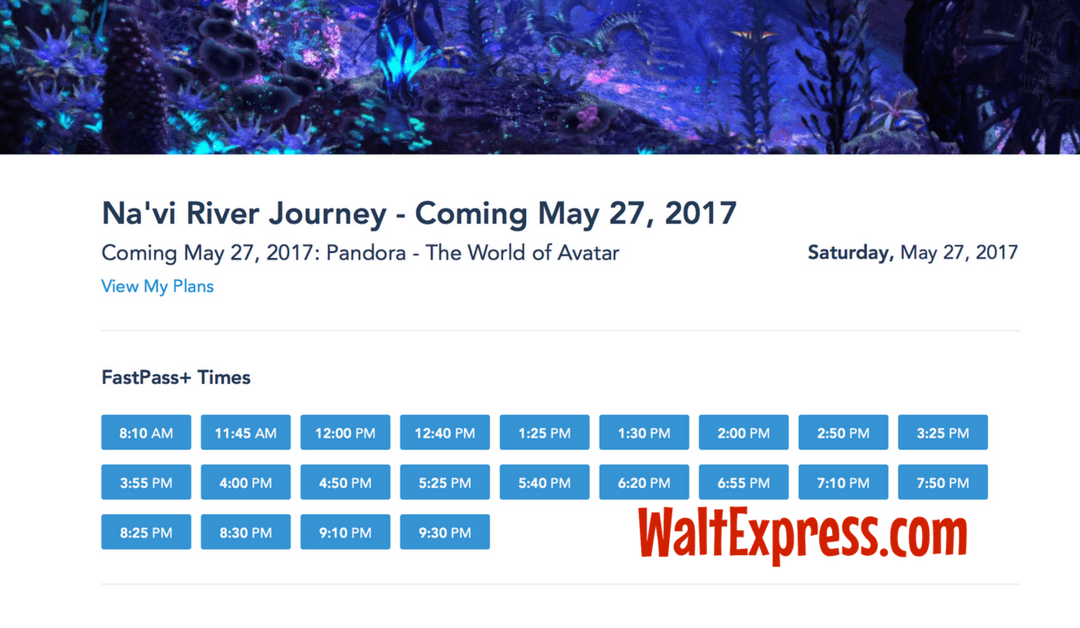 BREAKING NEWS: FastPass+ Released for Pandora-The World of Avatar