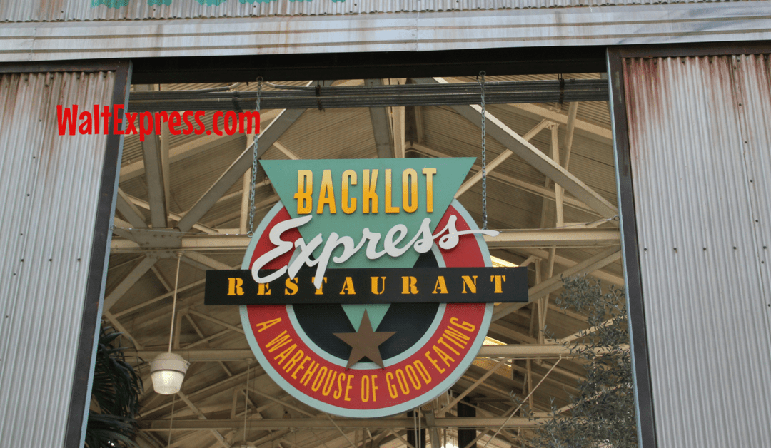 Backlot Express: A Disney World Quick Service Dining Review