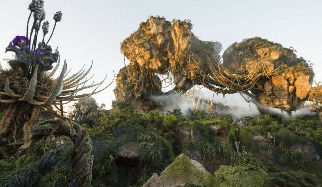 New Video: from Animal Kingdom's Pandora: World of Avatar