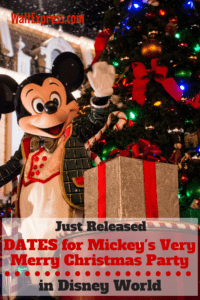 Disney Releases 2017 Dates for Mickey's Halloween and Christmas Party