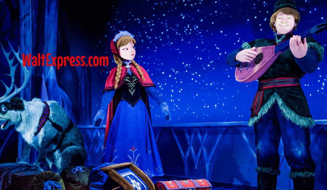 Breaking News: Frozen Dessert Party Coming to Epcot's Norway
